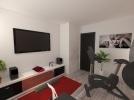 Projet d'une salle détente dans la maison